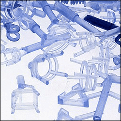 Plastic findings showing metal mold advantage